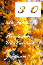 30-geburtstag-gelbe-blueten-sweden