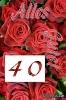 40 Geburtstag: Grußkarten kostenlos ausdrucken