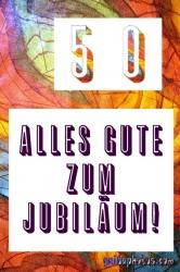 50 Geburtstag: Karten kostenlos drucken