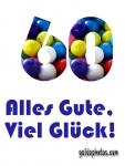 60 Geburtstag: kostenlose Karten