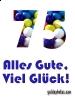 75 Geburtstag: kostenlose e-cards