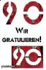 90 Geburtstag. gratis Geburtstag-Ecards