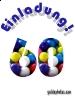 Einladungskarten zum 60 Geburtstag