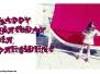 Englische Geburtstagskarten